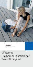 LifeWorks - Siemens Enterprise Communications GmbH & Co KG