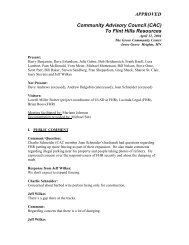 CAC - Community Advisory Council to Flint Hills Resources Pine ...