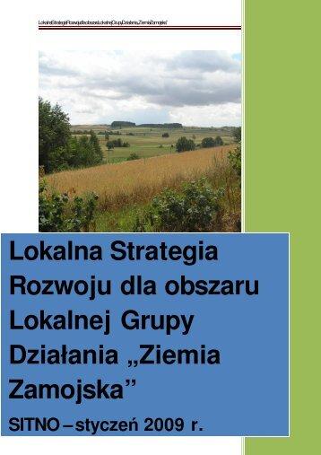 Lokalna Strategia Rozwoju dla obszaru Lokalnej ... - Skierbieszów