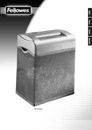 Shredmate Manual.12L.v5.qxd - Fellowes