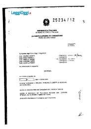 sentenza n. 25234/12 - LeggiOggi