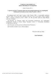 Uchwała nr XXXIII/311/13 w sp. przyjęcia - Gmina Wyszków