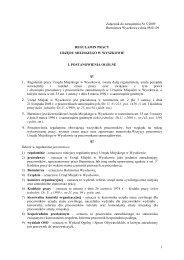 Załącznik do Regulaminu Pracy - Gmina Wyszków