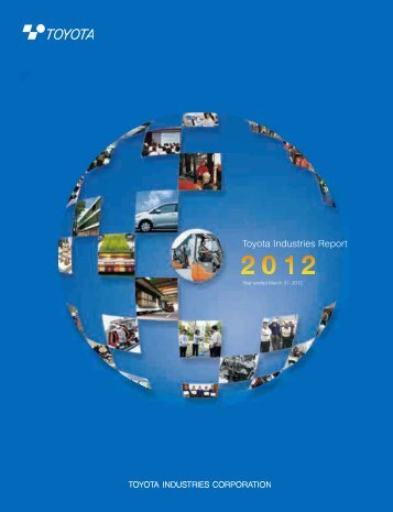 TICO Annual Report 2012 - Toyota Material Handling Europe