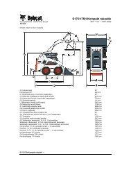 S175/175H Kompakt rakodók - DM-Ker Kft