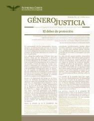 GéNEroJuStiCia - Programa de Equidad de Género en la Suprema ...