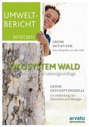Umweltbericht 2010/2011 - Arvato