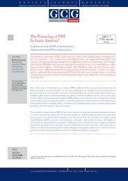 The Financing of FDI In Latin America* - Universia