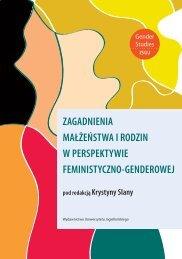 zagadnienia małżeństwa i rodzin w perspektywie feministyczno ...
