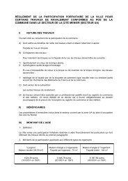 Modification règlement subvention ravalement Cité-Menier - Noisiel
