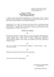 Uchwała Nr 457/2010 Rady Miejskiej w Nowym Stawie z dnia 10 ...