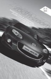 Zubehörprospekt Mazda MX-5 Facelift Typ NC - Autohaus Vollmari ...