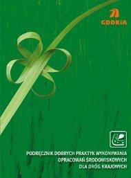 Podręcznik dobrych praktyk wykonywania opracowań ... - SISKOM