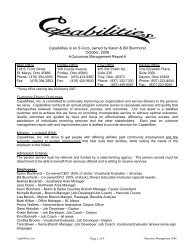 October, 2006 - Capabilities, Inc.