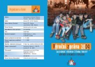 výroční zpráva 2009 - Salesiánské středisko Štěpána Trochty - dům ...