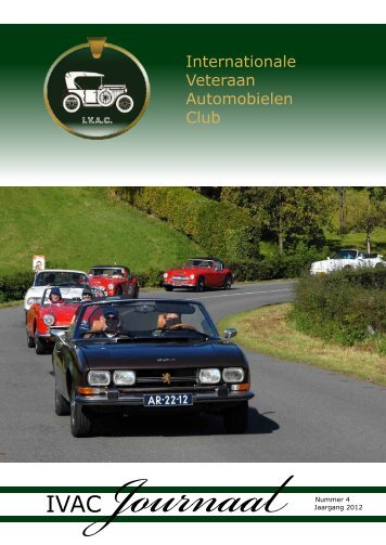 IvacJournaal nr. - Internationale Veteraan Automobi