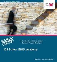 IDS Scheer EMEA Academy -  Software AG
