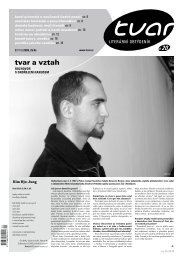 Tvar 20/2008 - iTvar