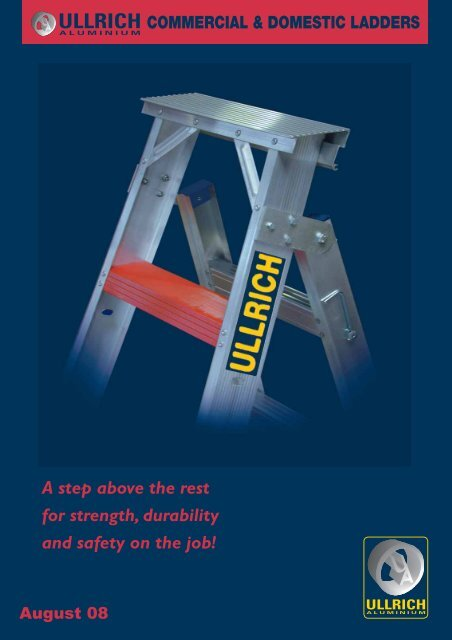 COMMERCIAL & DOMESTIC LADDERS - Ullrich Aluminium