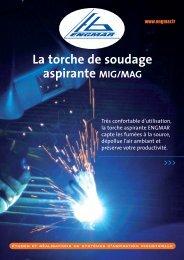 La torche de soudage aspirante MIG/MAG - Bonnefon Soudure