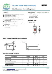 Low Power Lighting LED Driver Data sheet 19mA Constant Current ...