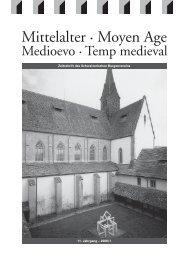 Mittelalter 1-06.indd - Schweizerischer Burgenverein