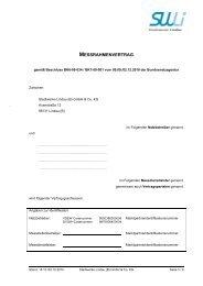 MESSRAHMENVERTRAG - Stadtwerke Lindau