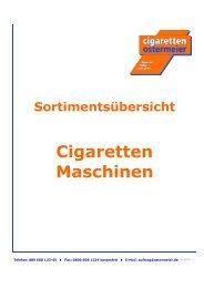 WG 42 Cigarettenmaschinen 04-09 - Cigaretten Ostermeier