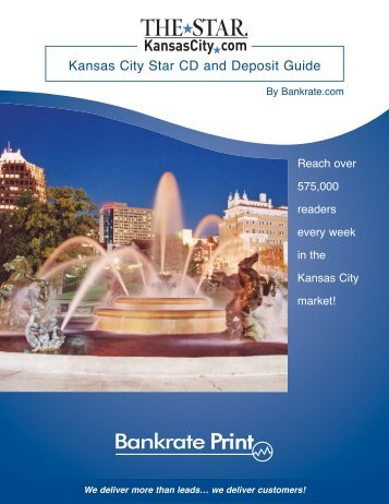 Kansas City Star CD and Deposit Guide