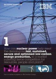 Our nuclear renaissance - IBM