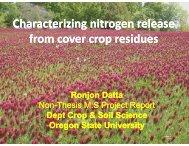 Ch iii Ch iiil Characterizing nitrogen Characterizing nitrogen release ...
