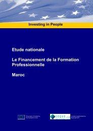 Etude nationale Le Financement de la Formation ... - RIFA
