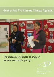 Gender and the Climate Change Agenda - Womens Environmental ...