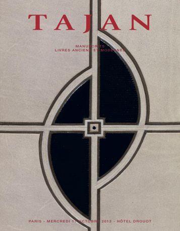 Tajan 17 octobre 2012 - Anne Lamort Livres Anciens
