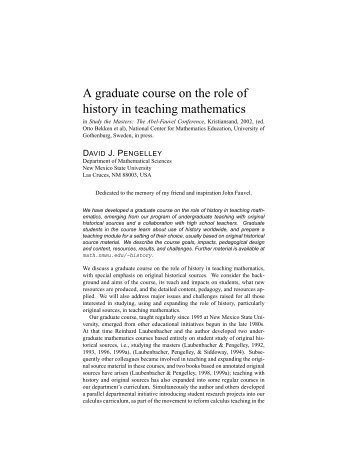 the role of mathematics Question: what is the role of technology in the teaching and learning of mathematics nctm position it is essential that teachers and students have regular access to technologies that support and advance mathematical sense making, reasoning, problem solving, and communication.