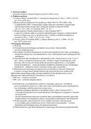 Licencja na krajowy transport drogowy przewóz osób i rzeczy. 2 ...