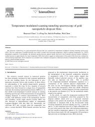 Temperature-modulated scanning tunneling spectroscopy of ... - Chen