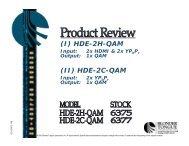 (I) HDE-2H-QAM (II) HDE-2C-QAM