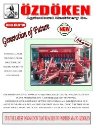 farmers all over the world prefer direct drilling seeders for better ...