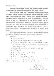 Wyniki badań ankietowych lokalnego rynku pracy - Powiatowy ...