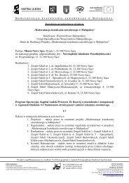 Regulamin uczestnictwa w projekcie - Nowosądecki Inkubator ...