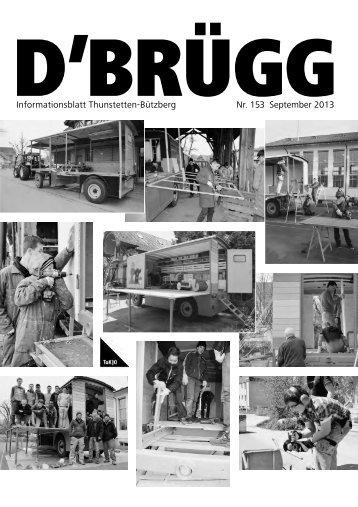 D'BRÜGG Nr. 153 - September 2013