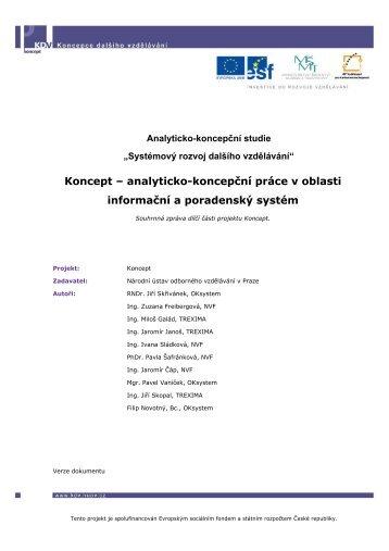 Informační a poradenský systém - Národní ústav odborného ...