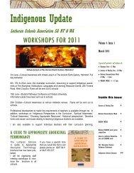 2011 March Volume 4 Issue 1.pdf - Lutheran Schools Association