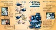 Carstens Keramik/Flyer 8/09 - Keramik-rheinsberg.de