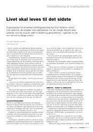 [pdf] Livet skal leves til det sidste