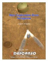 Article 11 Mars Exploration Rover Navigation - DESCANSO - NASA