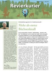 Revierkurier - Landesjagdverband Bayern