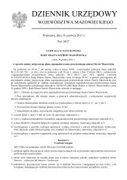Uchwała Nr XXXVII/159/2012 z dnia 28 grudnia 2012 r. - Plany ...