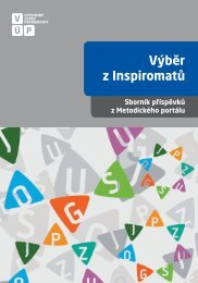 Výběr z Inspiromatů - Výzkumný ústav pedagogický v Praze